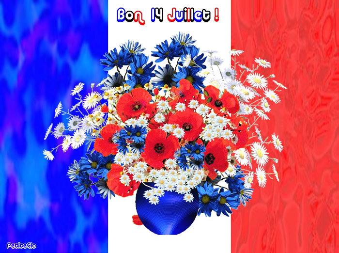 14 juillet bouquet tricoloreFBkBPat20BPat20