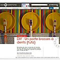 Color brosse #diy