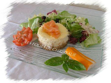 Cheesecake au saumon 7