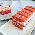 Charlotte-cake aux fraises