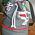 Un sac marin avec compartiment
