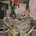 Georges Braque, L'Atelier au crâne, 1938, collection particulière © Sotheby's / Adagp, Paris 2009