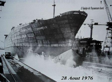 Samedi 28 Aout 1976 lancement du edouard LD