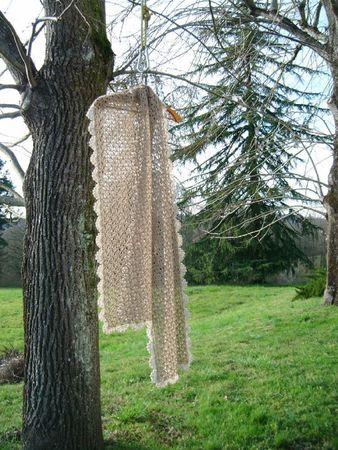 écharpe crochet dentelle 024