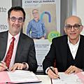 Signature d'un partenariat entre hachette livre et l'association nos quartiers ont des talents