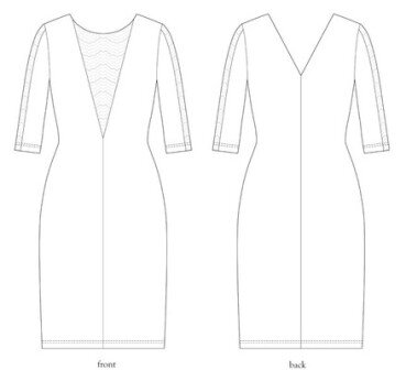 Salme Patterns - Sofia Dress