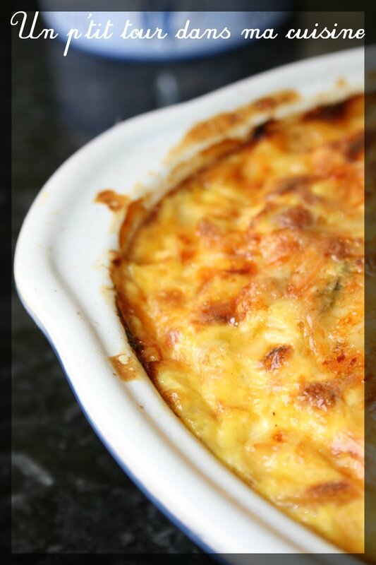Clafoutis thon courgettes