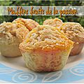 Muffins aux fruits de la passion