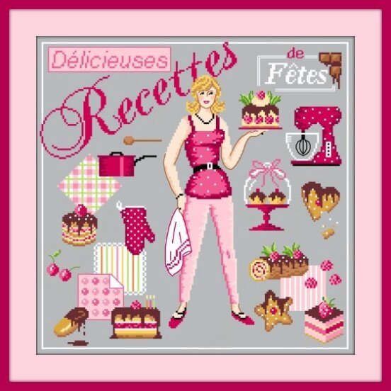 Delicieuses recettes G cadre