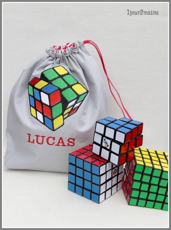 sac rubiscube Lucas
