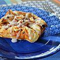 Danish pastry à la pomme et aux noisettes