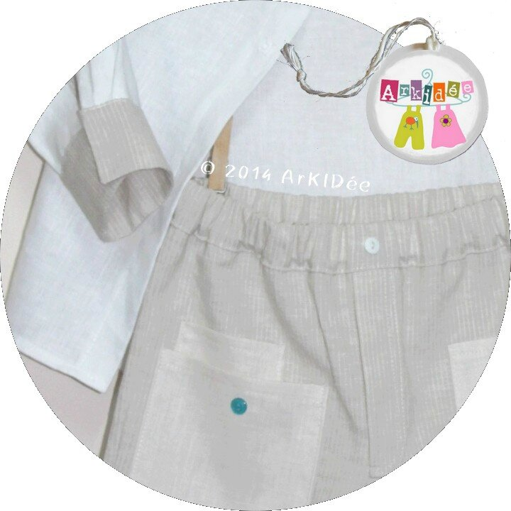 Détail poches pantalon