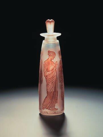 Flacon de parfum pour Coty - Ambre antique