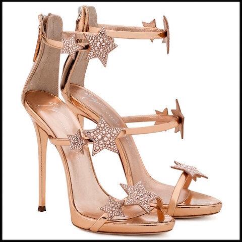 giuseppe zanotti sandales harmony star 4