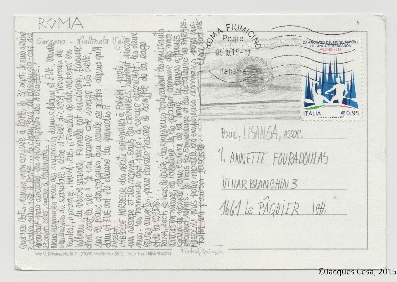 Carte 5 Verso