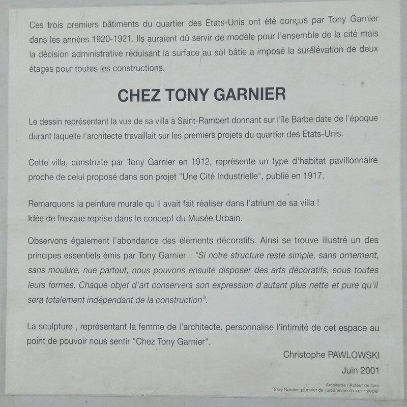 TONY GARNIER 1