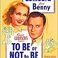 Lubitsch. to be or not to be. 1942.