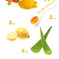 Diy masque anti-tâches éclaircissant au miel et au curcuma