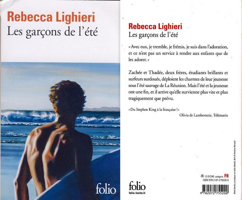 3 - Les garcons de l'été - Rebecca Lighieri