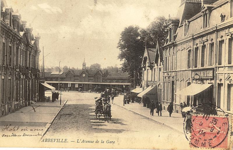 1918 06 03 Abbeville avant guerre (1)