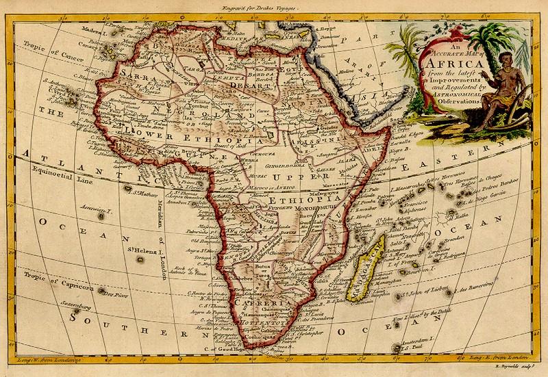 Carte De Lafrique Antique.La Passion Des Cartes Mad De Madagascar