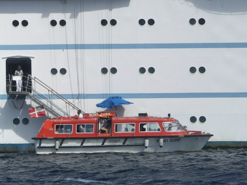 Club Med II, la navette
