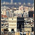 arc de triomphe-tiltshift