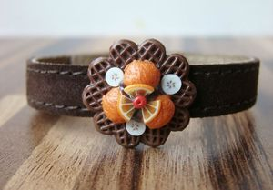 Bracelet_Leather_BrownWaffle
