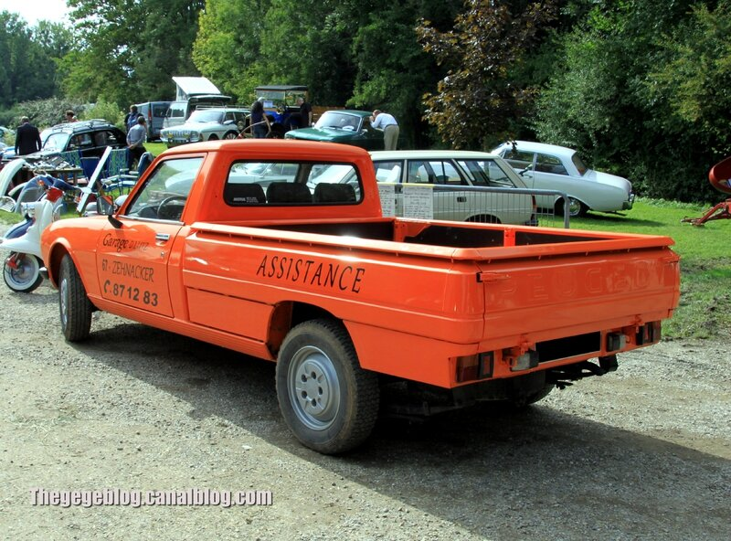 Peugeot 504 pick-up (32ème Bourse d'échanges de Lipsheim) 02