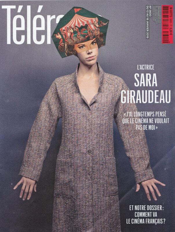 2019 02 20 Sara Giraudeau fait son cirque