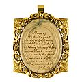 Sotheby's to auction a lock of mozart's hair; expected to fetch £10,000-12,000 next week in london
