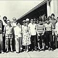 Délégation ffck en chine en 1980