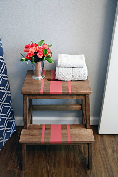 Stained_Painted_Ikea_Stool_8