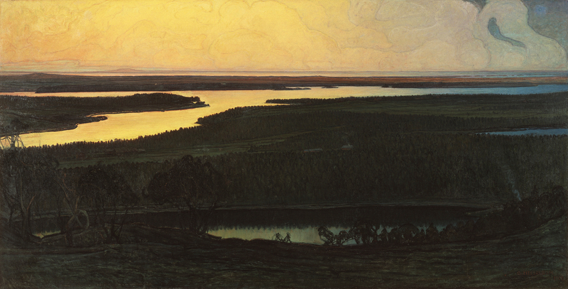 Otto Hesselbom, Our Country