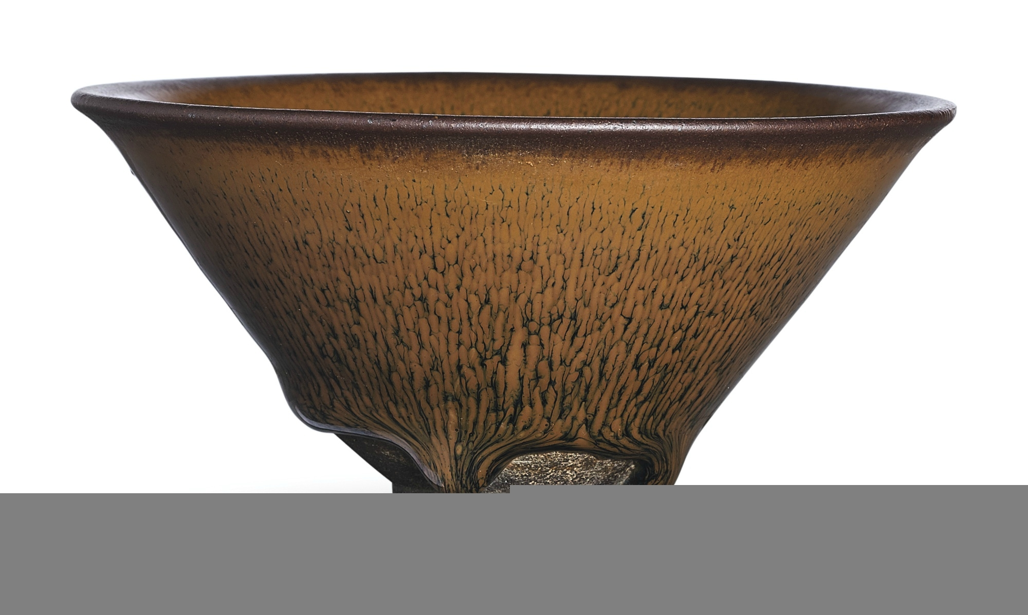 A Jian russet-streaked 'nogime temmoku' bowl, Southern Song dynasty