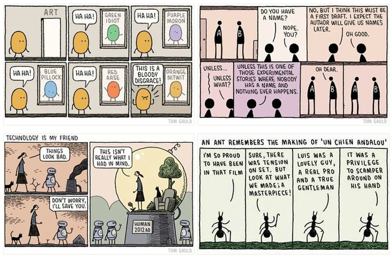 strips tom gauld