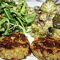 Menu de la semaine du 9 au 15 décembre (végétalien, sans gluten, sans soja)