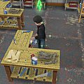 Les sims freeplay - décoration bizarre - les quêtes sociales -