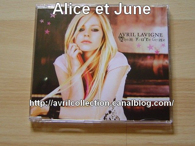 Maxi CD When You' re Gone-version européenne (2007)