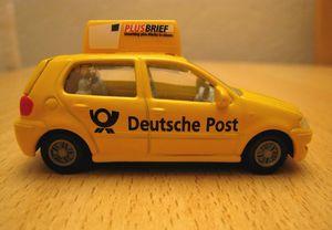 Vw polo deutsche post 03 -Siku-