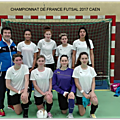 Finale du championnat de france de futsal féminin à caen