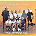 Finale académique de futsal : les filles championnes d'académie