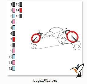 bugs13X18