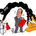 La « république » punie pour son revirement dans la barbouzerie moyen-orientale… l'armée française aux côtés de daesh en syrie