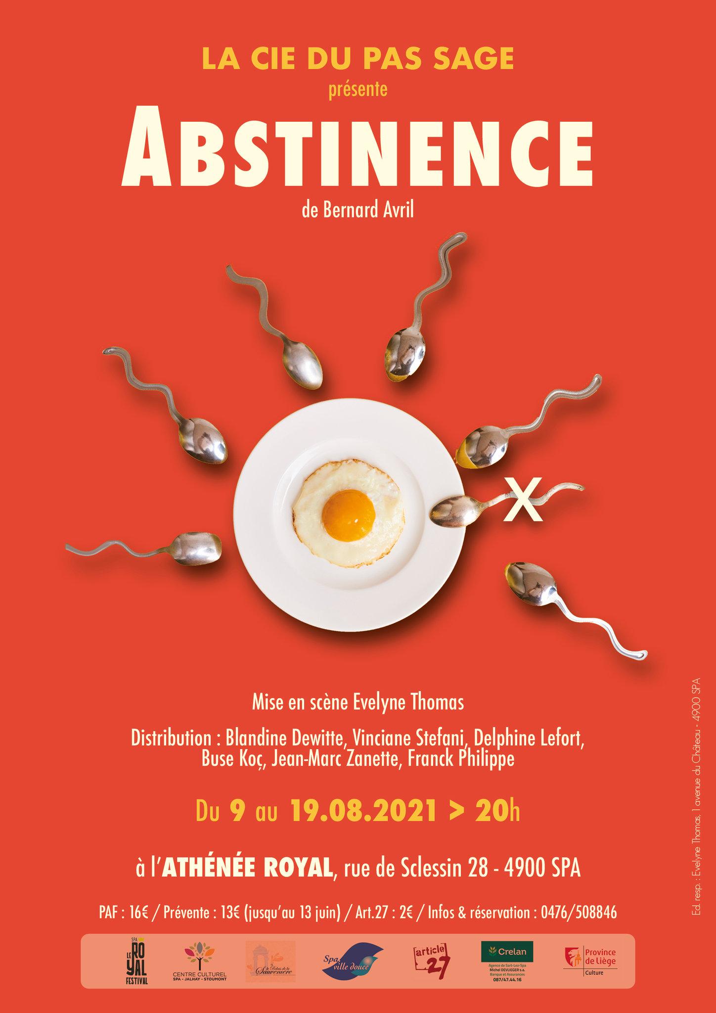 Abstinence affiche