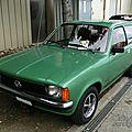 Opel kadett c 1.2 s caravan 1973-1977