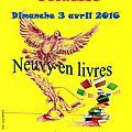 Salon du livre jeunesse a neuvy-saint-sepulchre (36) / 3 avril 2016