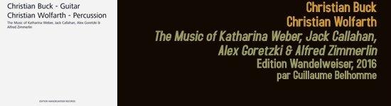 christian buck christian wolfarth the music of katharina weber