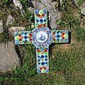 Croix de mosaïque
