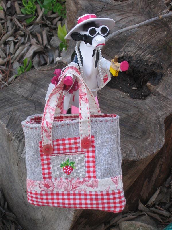Mini sac tablier